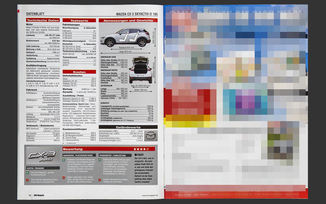 SUV Magazin - Mazda CX-3