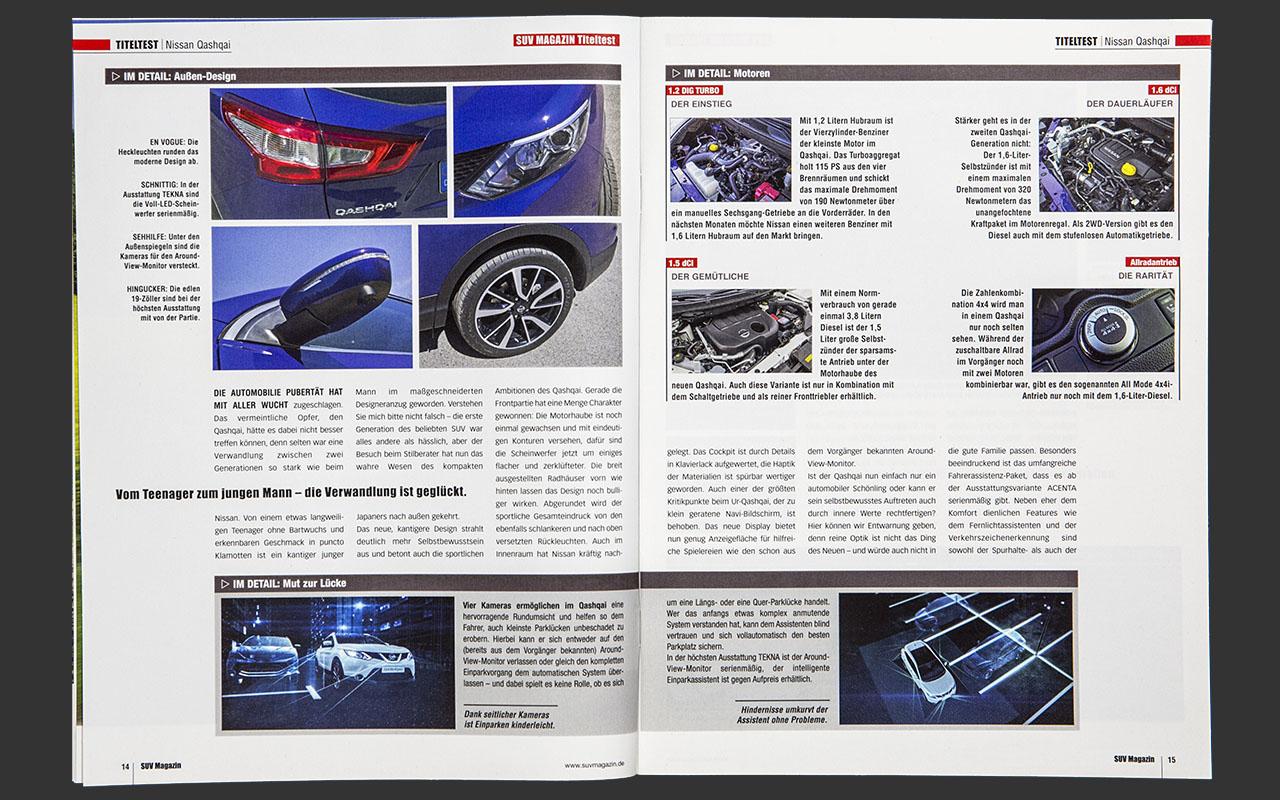 SUV Magazin - Nissan Cashqai